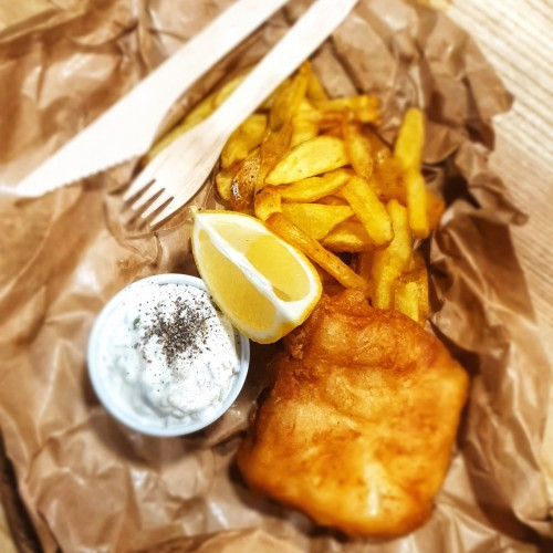 street food - fish&chips